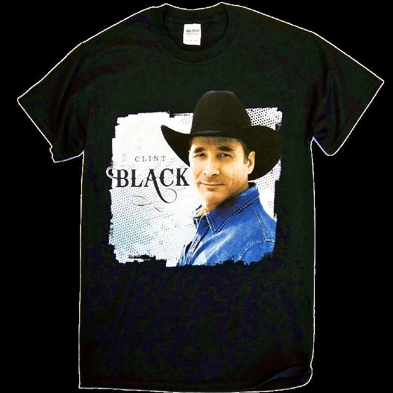 Clint Black 2015 Black Tour Tee