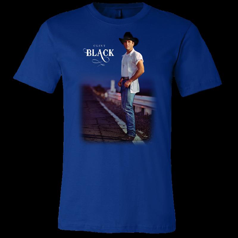 Clint Black True Royal Taillights Tee
