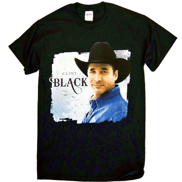 Clint Black 2015 Black Tour Tee