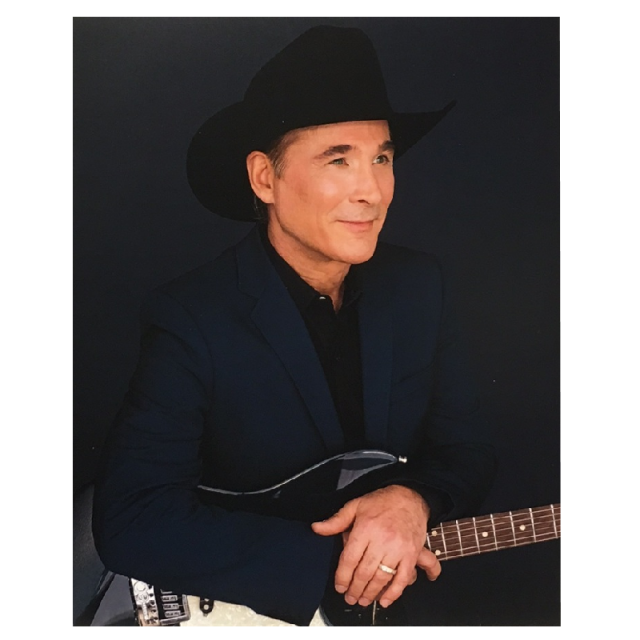 Clint Black 8x10 in Navy Jacket