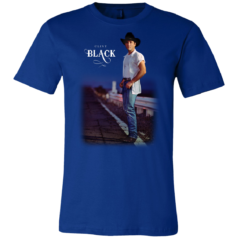 Clint Black True Royal Taillights Tee